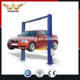 Modèle de deux postes et étage clair, double levage de véhicule de poste de type deux de levage hydraulique de cylindre