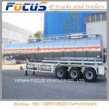 40, 000 литров дизеля/нефти/сырой нефти бака для хранения общего назначения тележки трактора трейлера Semi