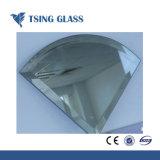 8mm Aluminium argenté miroir avec bords polis
