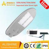 5 Solar-LED Straßenlaterneder Jahr-Garantie-30W 40W 50W 60W mit getrenntem MonoSonnenkollektor