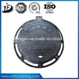 SGS bestätigte B125/C250/D400 Roheisen-Entwässerung-Einsteigeloch-Deckel
