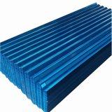 Tôle de toit ondulé couché couleur pour la construction