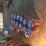 Esfera Valve&#160 do forro ETFE do corpo de aço de molde;