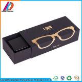 Коробка стекел бумаги черноты нестандартной конструкции с логосом золота
