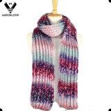Ультрамодный цветастый акриловый шарф краски космоса пряжи Исландии