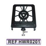 Tre stufa di gas del ghisa del bruciatore del bruciatore uno del bruciatore due (HWR0201)