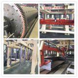 설치한 기계를 AAC 구획은 기계를 만드는 공기에 쐬인 콘크리트 블록을 압력가마로 소독했다