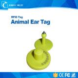 Koe die de Dierlijke Elektronische Markering van het Oor volgen RFID 125kHz Em4305