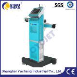 Волокна лазерная маркировка машины для воды HDPE трубы/пластмассовые трубопроводы