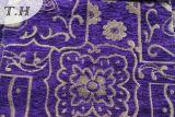 أرجوانيّة جميل [شنيلّ] جاكار أريكة بناء جانبا [320غسم]