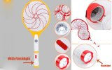 Flashlight Electronic Mosquito Killer를 가진 비행거리 Zapper Swatter Insect Racket Bug
