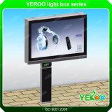 強い長方形ステンレス製LEDの側光の印のボード