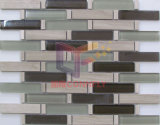 ガラスおよび石は混合した台所しぶき(CFS708)のための単連続写真の灰色カラーを