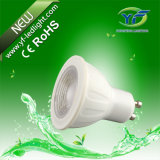 GU10 MR16 E27 B22 490lm 560lm 660lm 770lm 1050lm 7 * 10W LED Flat PAR Light com RoHS CE SAA UL