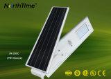 Lámpara al aire libre solar de la luz de calle de la fuente 60W IP65 LED de la fábrica