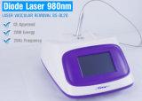 машина удаления вены спайдера лазера диода 980nm для васкулярных убытоков