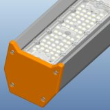 2017 alta luz revolucionaria de la bahía del diseño 200W LED