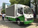 熱い販売FAW小さいP8 LEDの移動式トラックかLEDのトラックを広告すること
