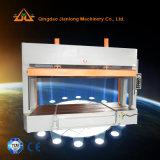 Machine froide hydraulique de travail du bois de presse de pétrole avec des rouleaux