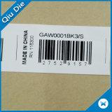 Centro de la marca personalizada etiquetas Cuidado de lavado de plegado