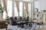 Sofá moderno com o sofá de Chesterfield com tela