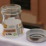 シール・ガラスの茶は茶タンク茶瓶の台所ガラス記憶の瓶を缶詰にする