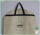 Abitudine che piega il sacchetto non tessuto impaccante non tessuto dei vestiti della prova della polvere della guarnizione della chiusura lampo di Eco del sacchetto del vestito