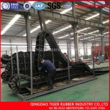 Correia transportadora do Sidewall ondulado resistente