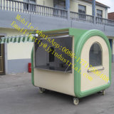 新しく熱い販売法の軽食、水、フルーツ、コーヒー、アイスクリームの移動式車輪の三輪車の食糧トラック