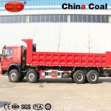 HOWO 8X4 Ladevorrichtungs-Maschinen-und Exkavator-Kipper-Lastkraftwagen mit Kippvorrichtung