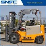 Elektrische Vorkheftruck van de Kwaliteit van China de Goede 2ton met Prijs 48V/630ah