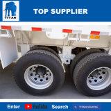 Het Voertuig van de titaan - de Semi Aanhangwagen van de Omheining van de Aanhangwagen van de Zijgevel van 3 As in de Aanhangwagen van de Vrachtwagen