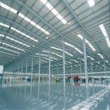 Costruzione industriale prefabbricata del magazzino della struttura d'acciaio di disegno della costruzione