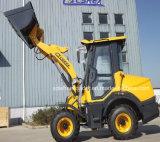 Lader van het Wiel 1000kg van de EU van het Landbouwbedrijf van Ce de Motor Geschatte met Duidelijke Emmer