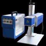 Non-Matel portable matériel de marquage laser CO2 pour cuir/de/Bois en caoutchouc