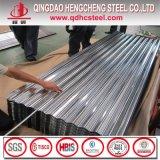 Telhas de zinco onduladas folha de metal da chapa de metal