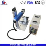 20W 30W 50W 소형 휴대용 섬유 Laser 표하기 기계