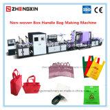 Zxl-E700オンラインハンドルの付加機械によって作るNon-Wovenボックス袋(51で)
