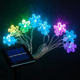 Cadena solar al aire libre de la luz de la mariposa del LED