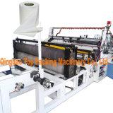 Papéis de tecido do toalete que rebobinam a máquina