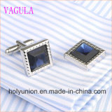 VAGULA Gemelos Hombres camiseta francesa Diamond Cuff Links 339