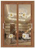 Puertas correderas de salto térmico de aluminio/aluminio Puertas de Casement