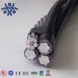 Baja tensión XLPE de PVC/aluminio/cobre aislado Conducor 4*240mm2 Cable ABC