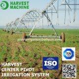 Sistema de irrigación agrícola de regadera del pivote de centro solar