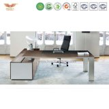 工場直接価格のOEMによってカスタマイズされる緑の物質的なベニヤの終了するオフィスの管理表の主任の机