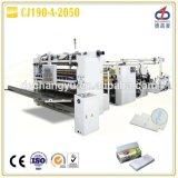 Máquina de la toalla de papel de la cocina del doblez de Cj190-a-2050 V