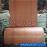 Commerce de gros de 50kg sac tissé en polypropylène de rouleaux