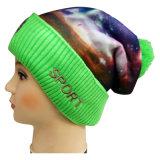 Haute qualité Bonnet tricoté avec broderie