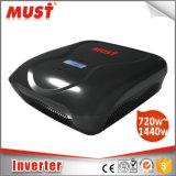 inversor Home de alta freqüência 1440W de 2400va 10A 20A