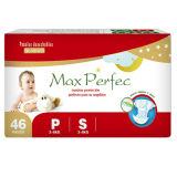 柔らかさおよびBreathable Baby Diapers (S)